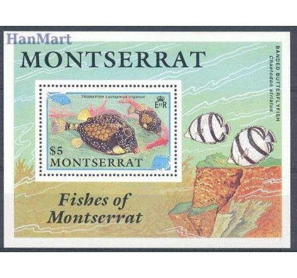 Montserrat 1991 Mi bl 60 Czyste **