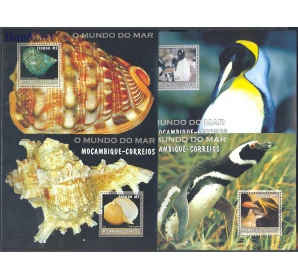 Mozambik 2002 Mi bl 168-192 Czyste **