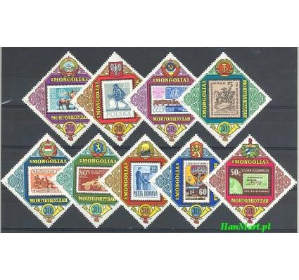 Znaczek Mongolia 1973 Mi 781-789 Czyste **