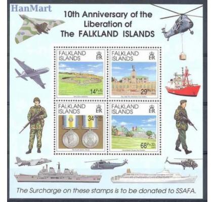 Znaczek Falklandy 1992 Mi bl 9 Czyste **