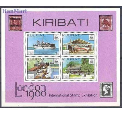 Znaczek Kiribati 1980 Mi bl 7 Czyste **