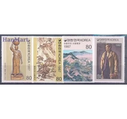 Korea Południowa 1987 Mi 1521-1524 Czyste **