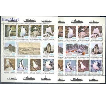 Argentyna 1980 Mi ark 1465-1478 Czyste **