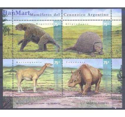 Argentyna 2001 Mi bl 73 Czyste **