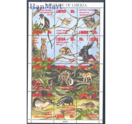 Znaczek Liberia 1993 Mi 1564-1575 Czyste **