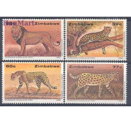 Zimbabwe 1992 Mi 472-475 Czyste **