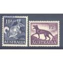 Australia 1961 Mi 310-311 Czyste **