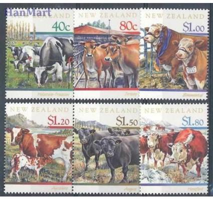 Znaczek Nowa Zelandia 1997 Mi 1571-1576 Czyste **
