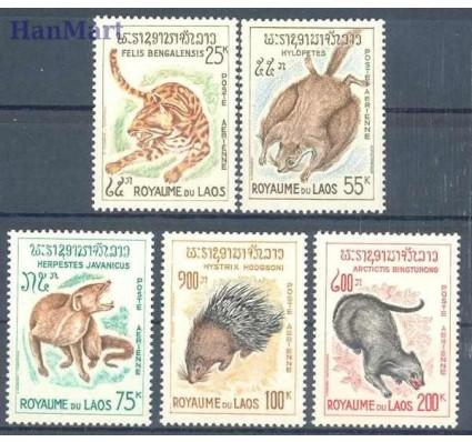 Znaczek Laos 1965 Mi 166-170 Czyste **