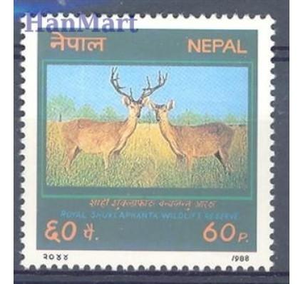 Znaczek Nepal 1988 Mi 489 Czyste **