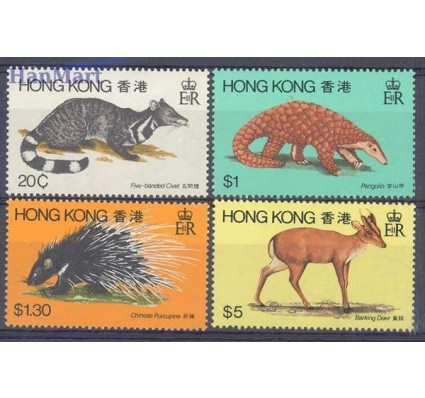 Znaczek Hong Kong 1982 Mi 384-387 Czyste **