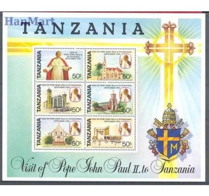 Znaczek Tanzania 1991 Mi bl 121 Czyste **