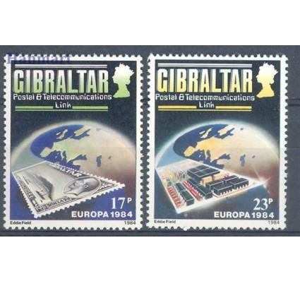 Znaczek Gibraltar 1984 Mi 475-476 Czyste **