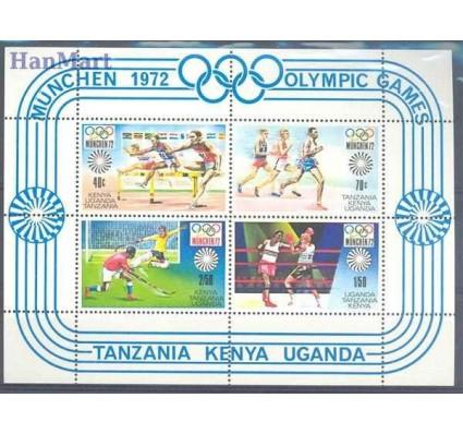 Kenia Uganda Tanganyika 1972 Mi bl 2 Czyste **