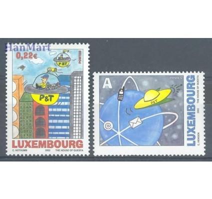 Znaczek Luksemburg 2002 Mi 1590-1591 Czyste **