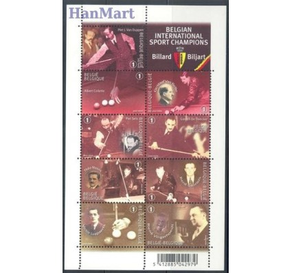Belgia 2007 Mi ark 3771-3779 Czyste **