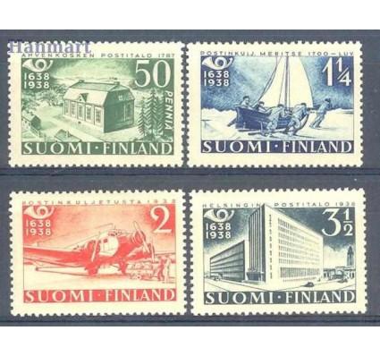Znaczek Finlandia 1938 Mi 213-216 Czyste **