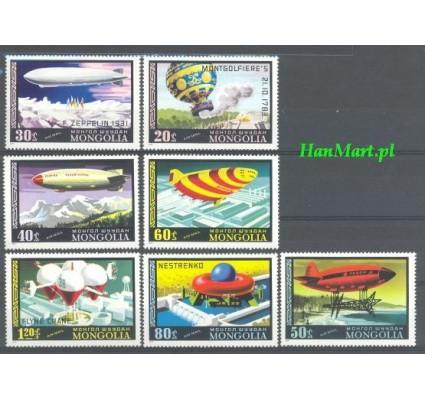 Znaczek Mongolia 1977 Mi 1118-1124 Czyste **