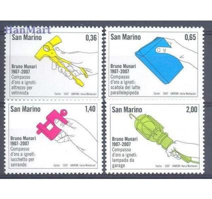 San Marino 2007 Mi 2291-2294 Czyste **