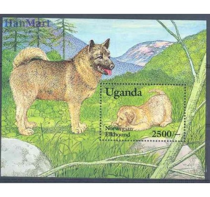 Uganda 1993 Mi bl 186 Czyste **