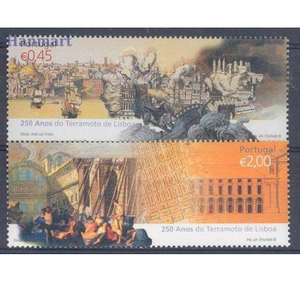 Znaczek Portugalia 2005 Mi 3019-3020 Czyste **