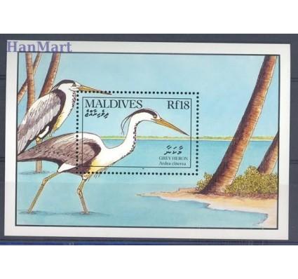 Znaczek Malediwy 1990 Mi bl 170 Czyste **