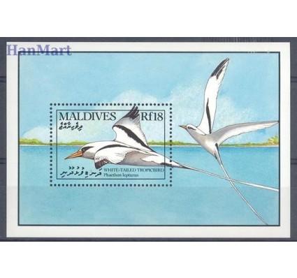 Znaczek Malediwy 1990 Mi bl 171 Czyste **