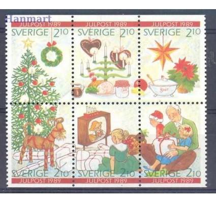 Znaczek Szwecja 1989 Mi 1576-1581 Czyste **