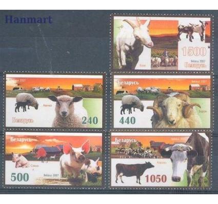 Znaczek Białoruś 2007 Mi 694-698 Czyste **