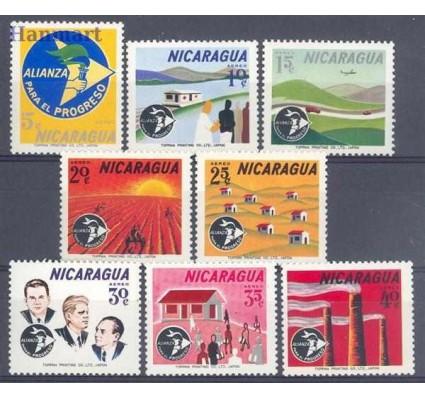 Znaczek Nikaragua 1964 Mi 1354-1361 Czyste **