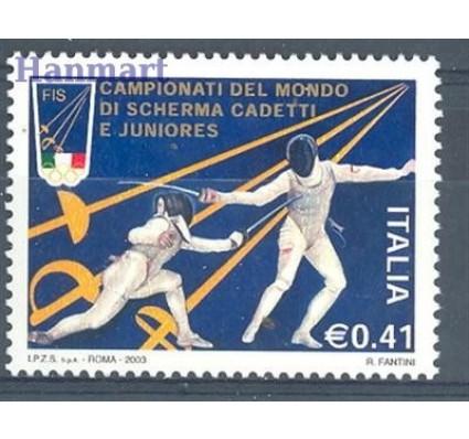 Znaczek Włochy 2003 Mi 2900 Czyste **