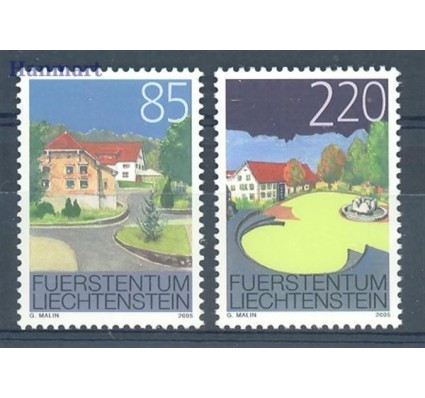 Liechtenstein 2005 Mi 1387-1388 Czyste **
