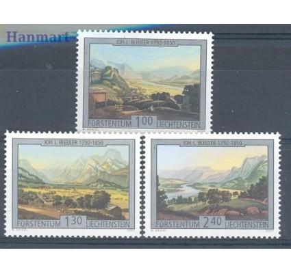 Liechtenstein 2007 Mi 1448-1450 Czyste **
