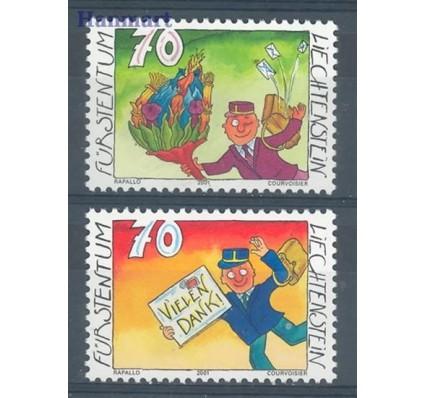 Znaczek Liechtenstein 2001 Mi 1257-1258 Czyste **