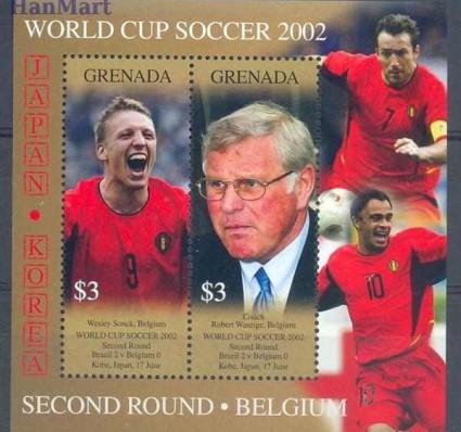 Grenada 2002 Mi bl 695 Czyste **