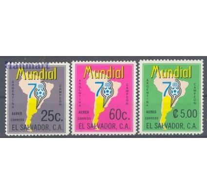 Salwador 1978 Mi 1244-1246 Czyste **