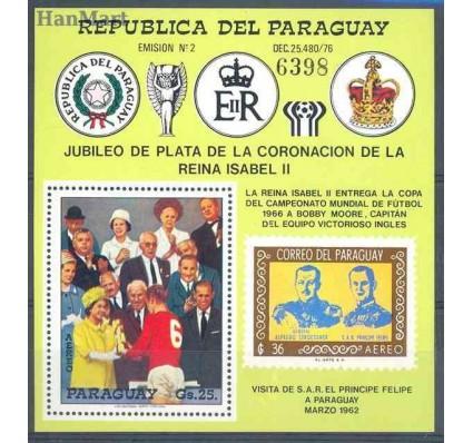 Znaczek Paragwaj 1978 Mi bl 321 Czyste **