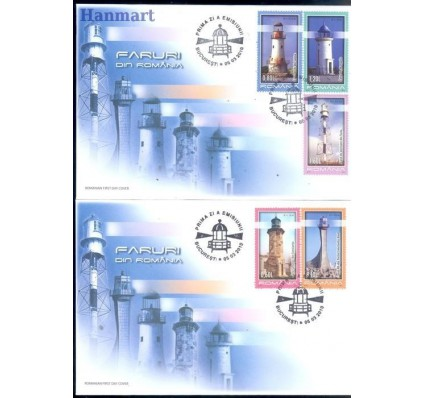 Rumunia 2010 Mi 6418-6422 FDC