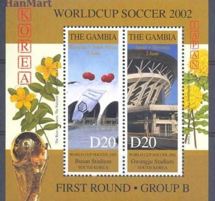 Gambia 2002 Mi bl 605 Czyste **