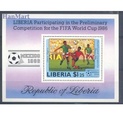 Znaczek Liberia 1985 Mi bl 109 Czyste **