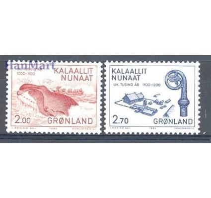 Znaczek Grenlandia 1982 Mi 138-139 Czyste **