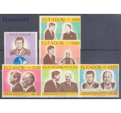Znaczek Ekwador 1967 Mi 1374-1379 Czyste **