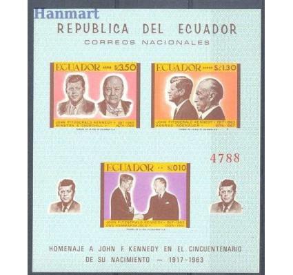 Ekwador 1967 Mi bl 46 Czyste **
