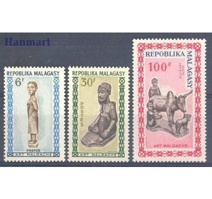 Madagaskar 1964 Mi 523-525 Czyste **