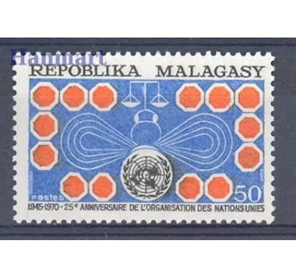 Znaczek Madagaskar 1970 Mi 615 Czyste **