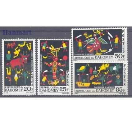 Dahomej 1965 Mi 247-250 Czyste **