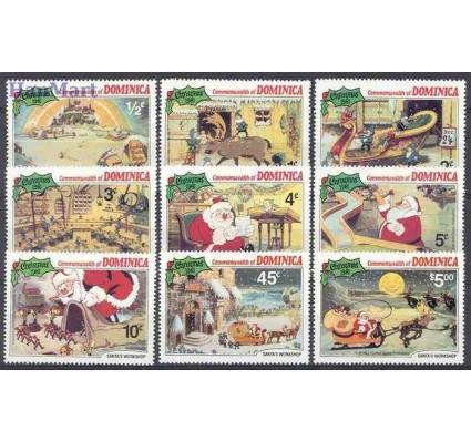 Znaczek Dominika 1981 Mi 720-728 Czyste **