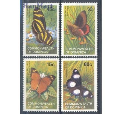 Znaczek Dominika 1982 Mi 782-785 Czyste **