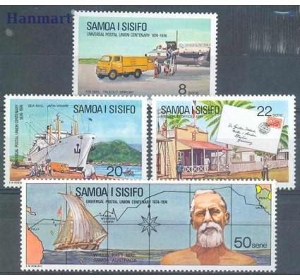 Znaczek Samoa i Sisifo 1974 Mi 302-305 Czyste **