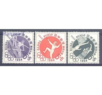 Znaczek Japonia 1962 Mi 807-809 Czyste **